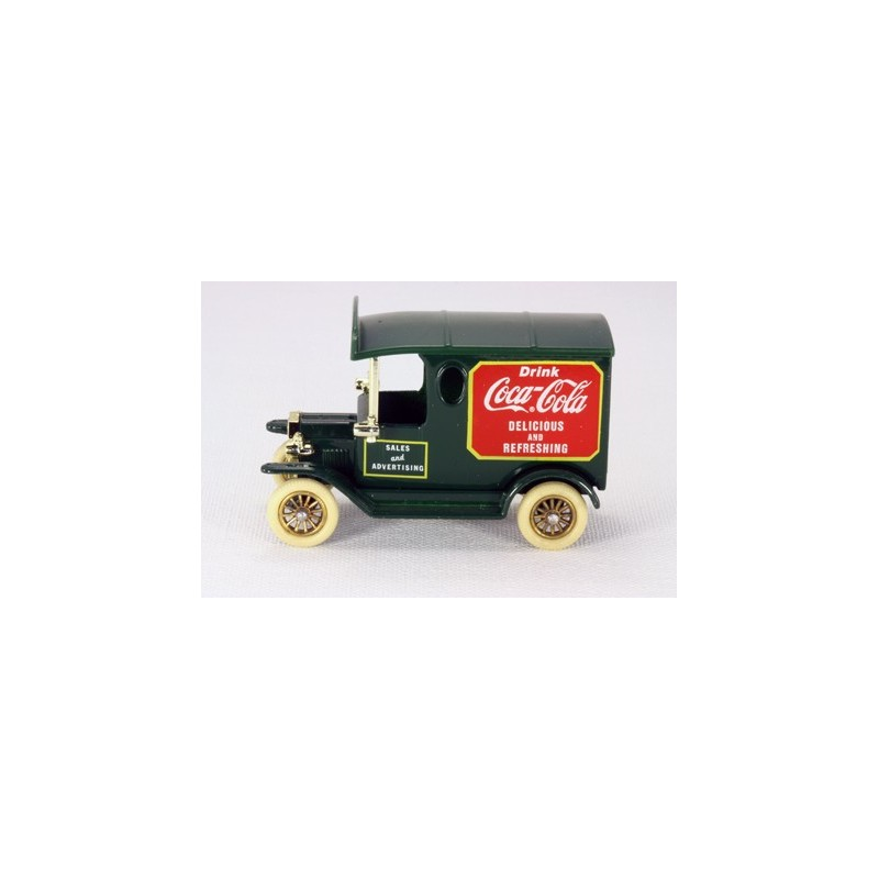 "Lledo Days Gone LC13 Model ""T"" Van Coca Cola Sales & Advertising"