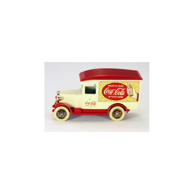 Lledo Days Gone LC21 Coca Cola White Delivery Van