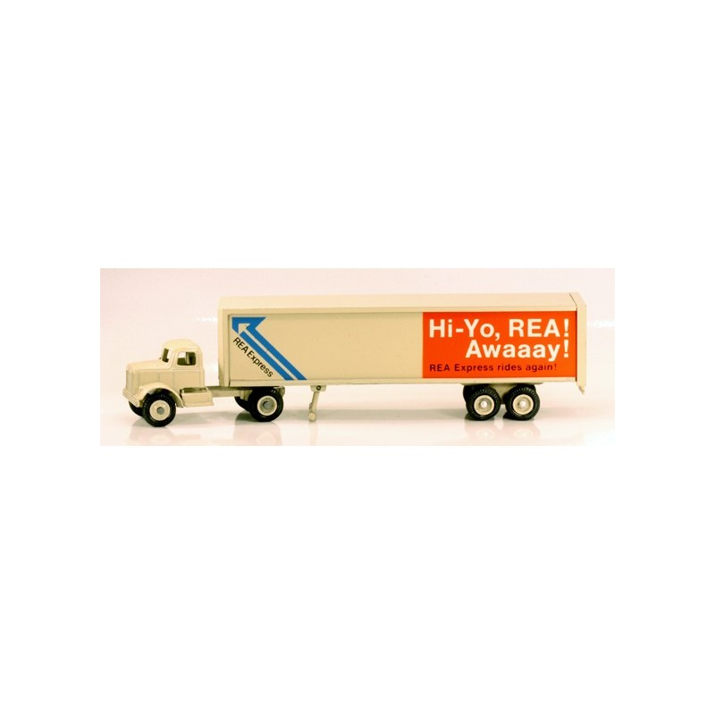WINROSS REA EXPRESS TRACTOR AND TRAILER TRUCK