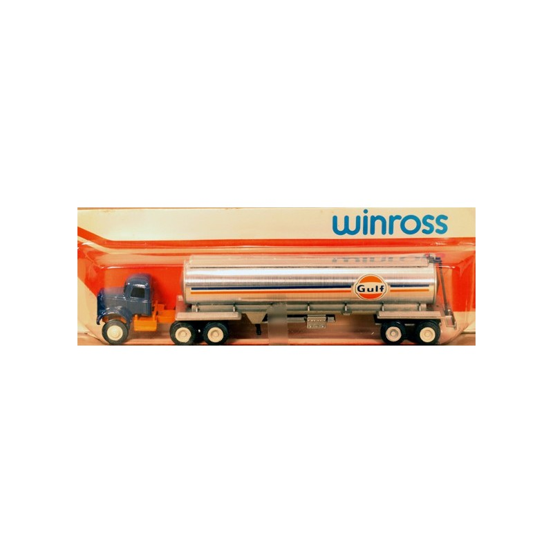 WINROSS GULF TRACTOR AND TANKER TRUCK