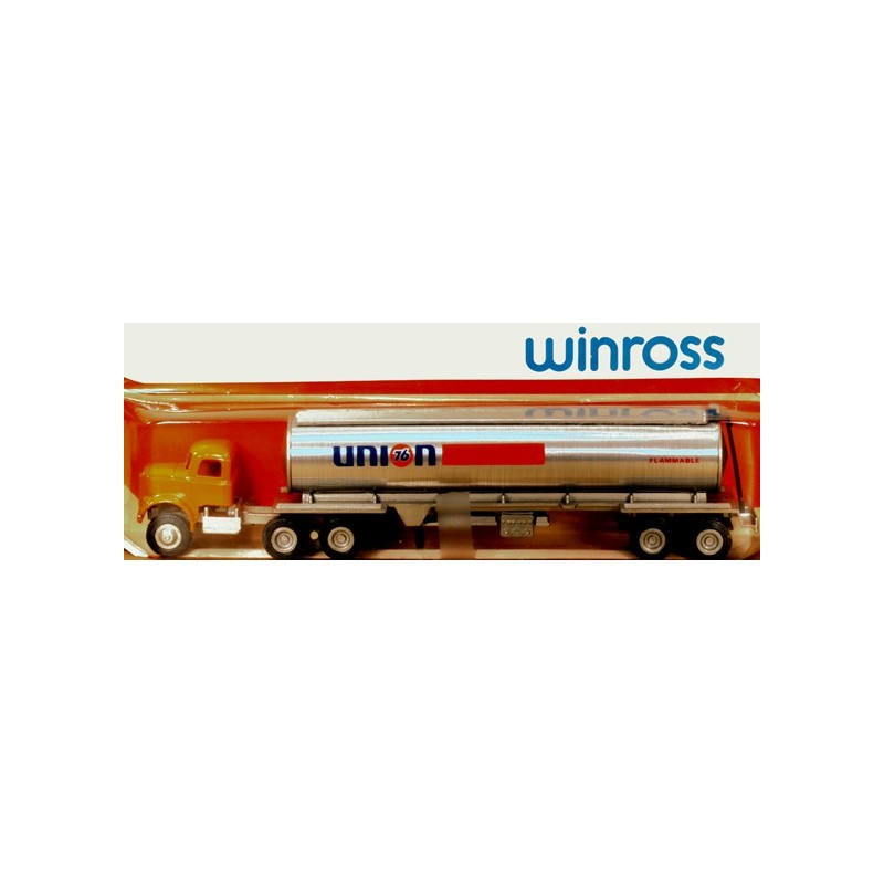 WINROSS UNION TRACTOR AND TANKER TRUCK