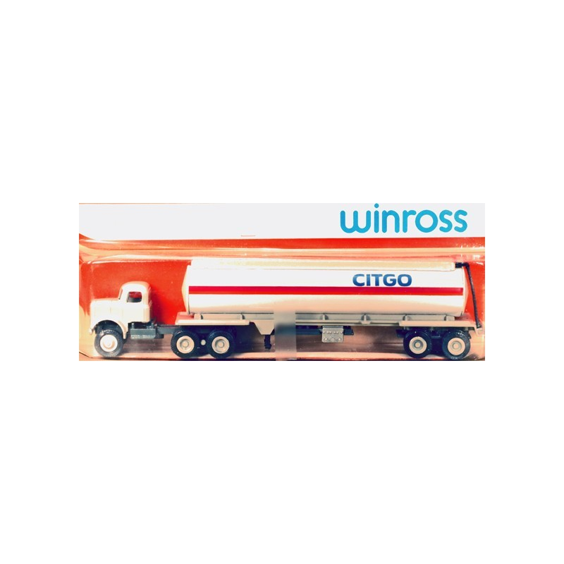 WINROSS CITGO TRACTOR AND TANKER TRUCK
