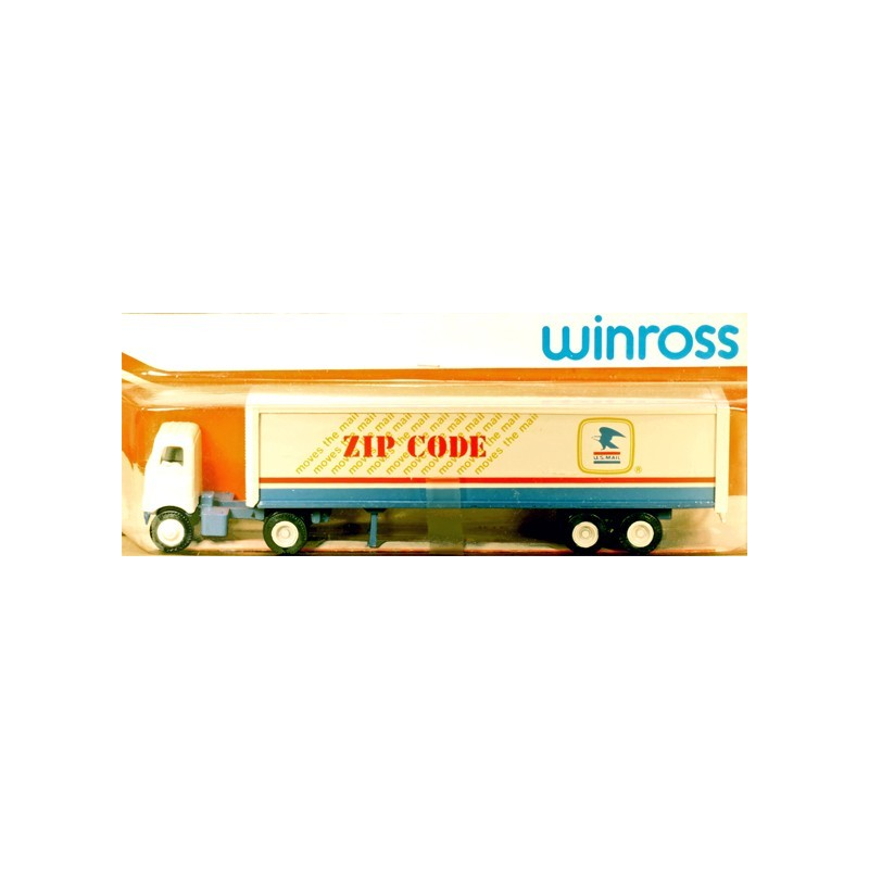 WINROSS U.S. MAIL TRACTOR AND TRAILER TRUCK