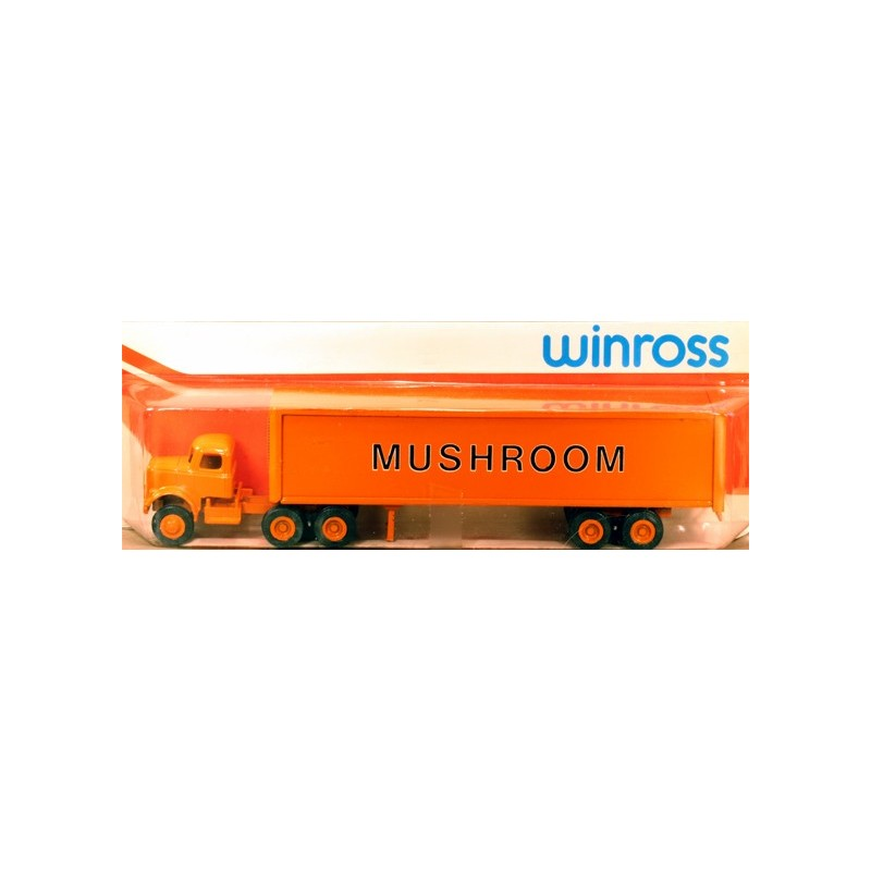 WINROSS MUSHROOM TRACTOR AND TRAILER TRUCK