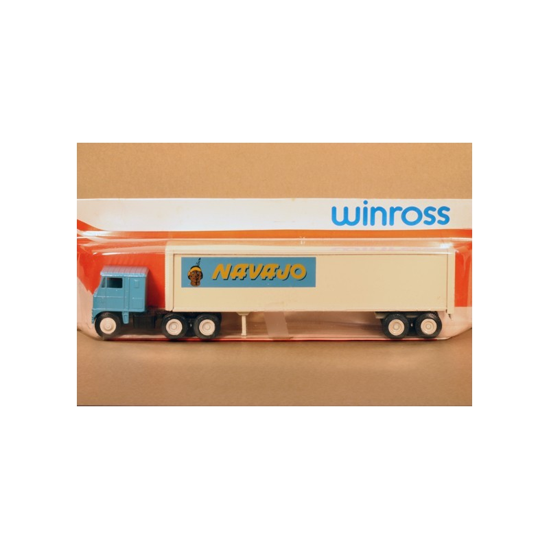 WINROSS NAVAJO TRACTOR AND TRAILER TRUCK