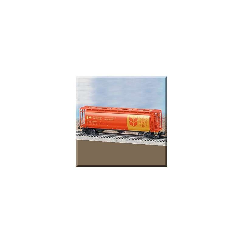 LIONEL 27113 GOVERNMENT OF CANADA 3 BAY CYLINDRICAL HOPPER
