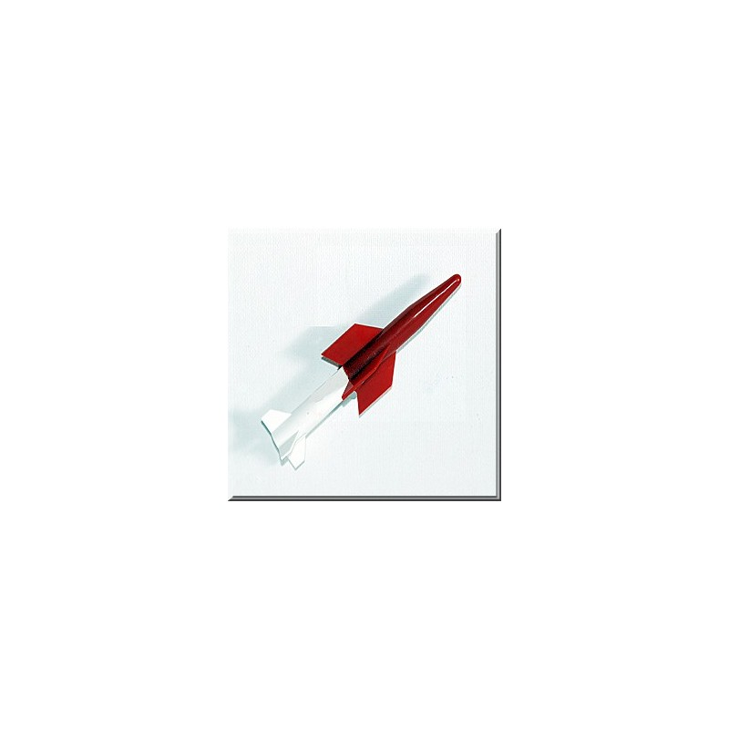 LIONEL 610-4162-010 RED OVER WHITE ROCKET