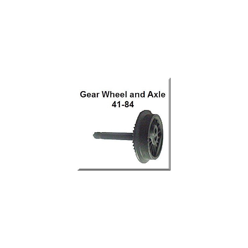 Lionel Part 41-84 plain wheel axle assembly
