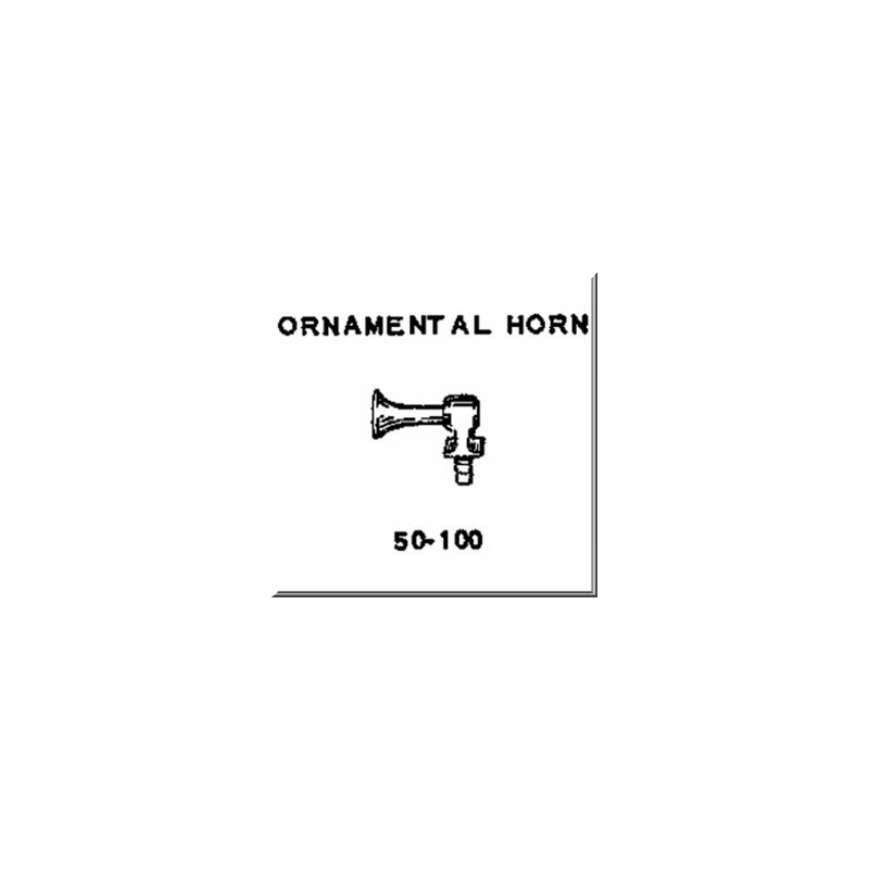 Lionel Part 50-100 ornamental horn