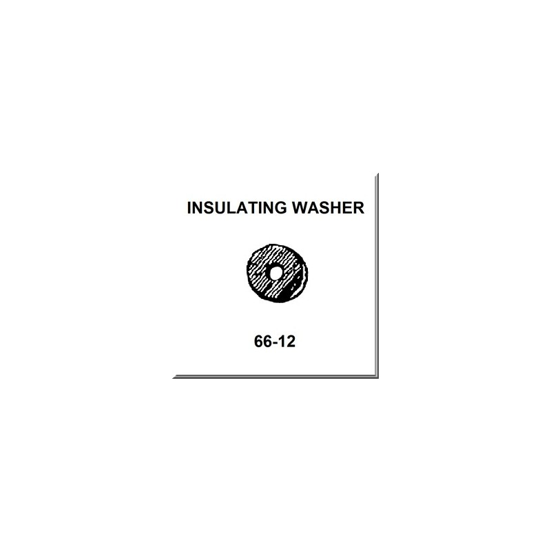 Lionel Part 66-12 fiber washer