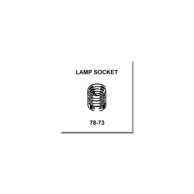 Lionel Part 78-73 lamp shell