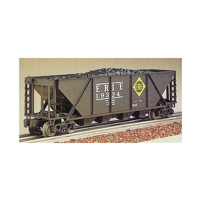 LIONEL 19324 ERIE FOUR BAY HOPPER WITH COAL