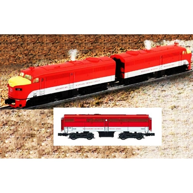 LIONEL 38182 MISSOURI KANSAS & TEXAS ALCO FA-2 DIESEL A-A LOCOMOTIVES WITH 38161