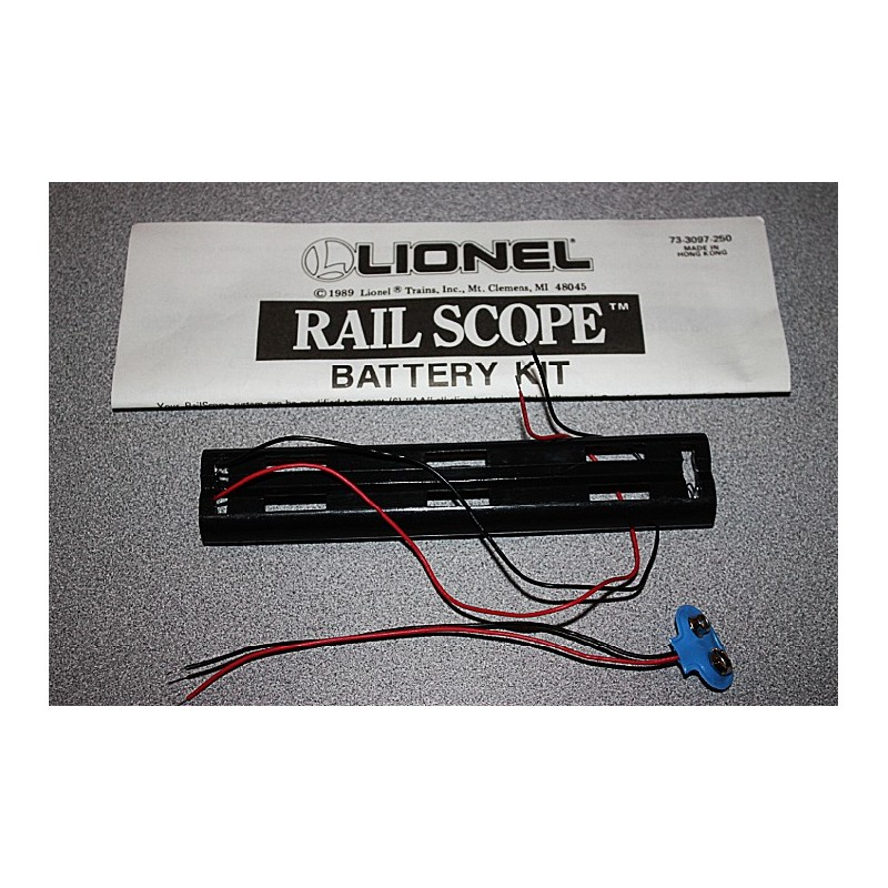 LIONEL 73-3097-250 RAIL SCOPE BATTERY KIT