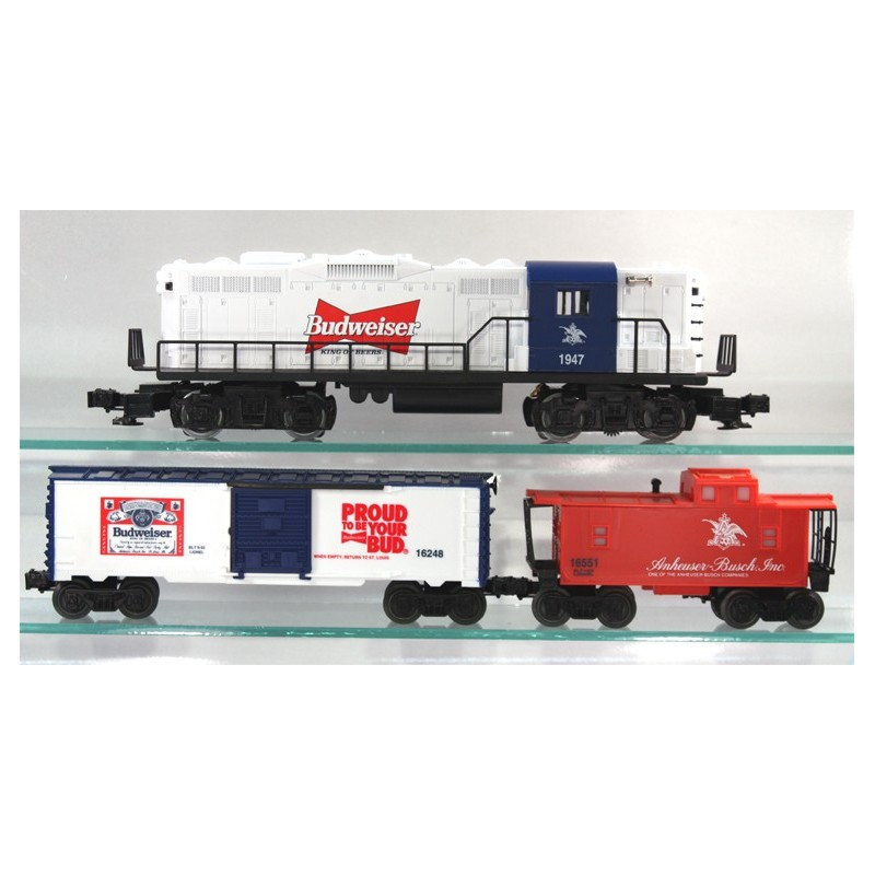 LIONEL 11810 ANHEUSER-BUSCH BUDWEISER BEER PROMOTIONAL TRAIN SET