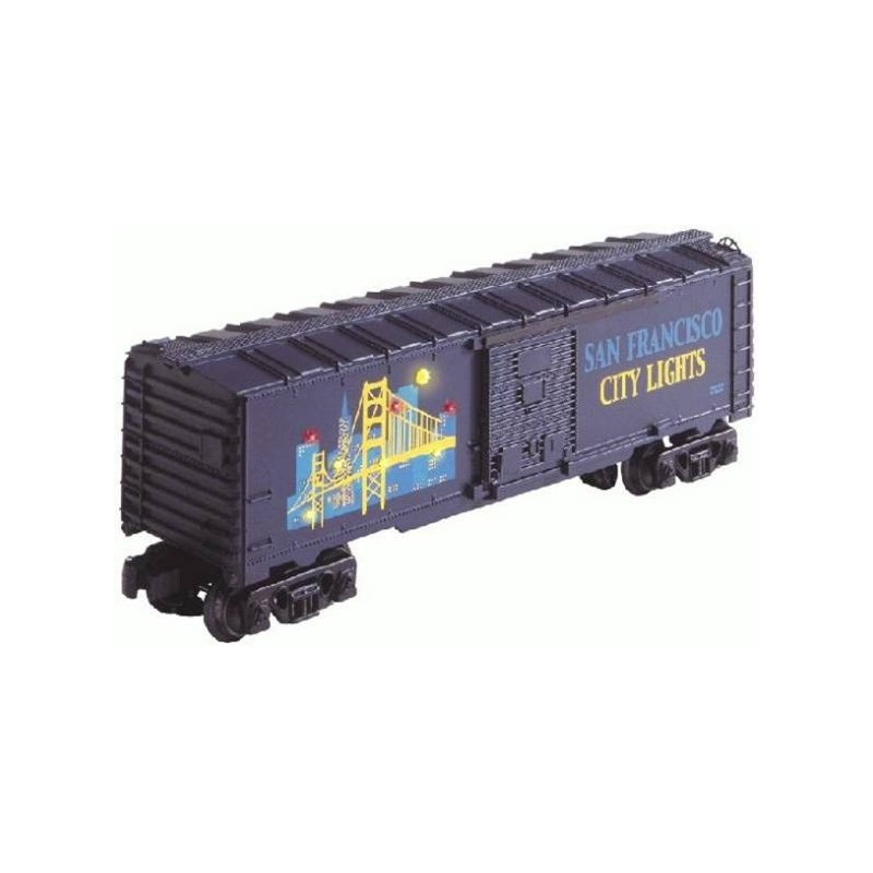 LIONEL 26727 SAN FRANCISCO CITY LIGHTS BOXCAR
