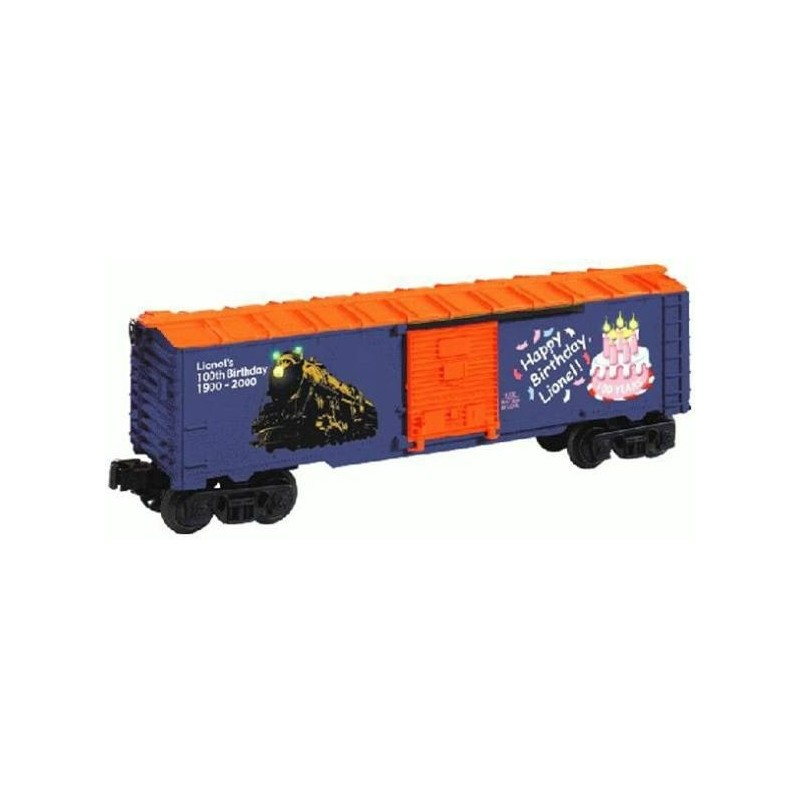 LIONEL 26736 LIONEL'S LIGHTED BIRTHDAY BOXCAR
