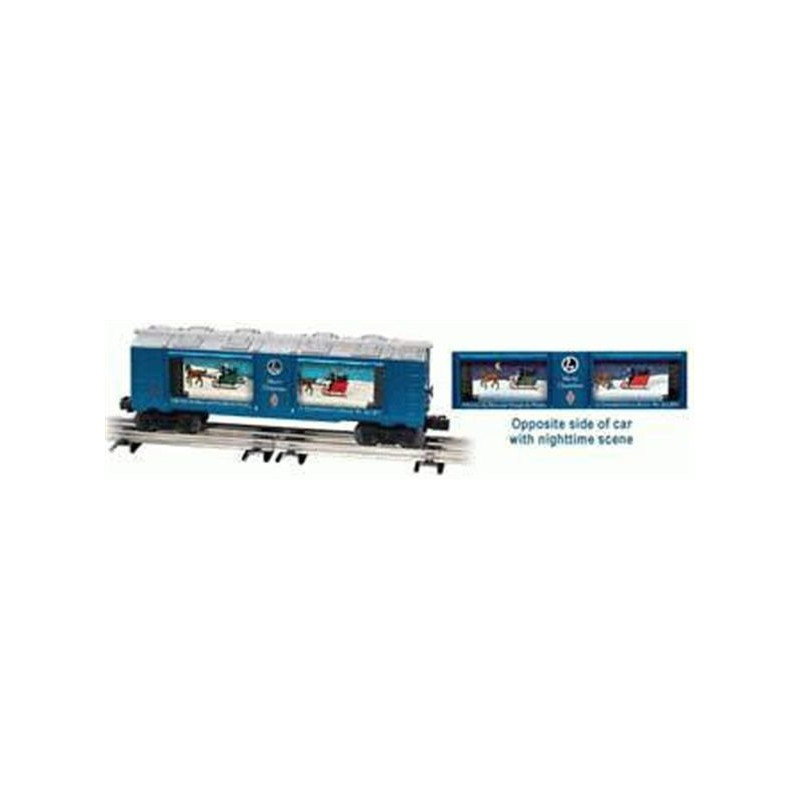 LIONEL 26752 HOLIDAY CHRISTMAS AQUARIUM CAR