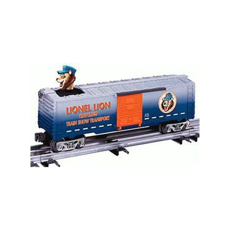 LIONEL 26782 LENNY THE LION BOBBING HEAD BOXCAR