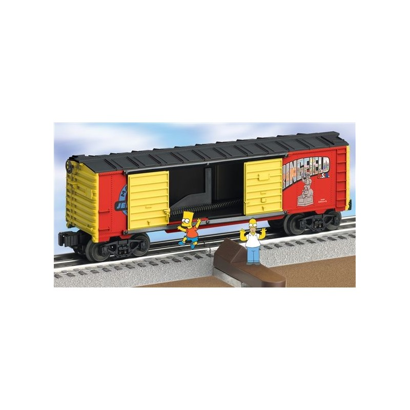 LIONEL 26801 JUMPING BART SIMPSON BOXCAR