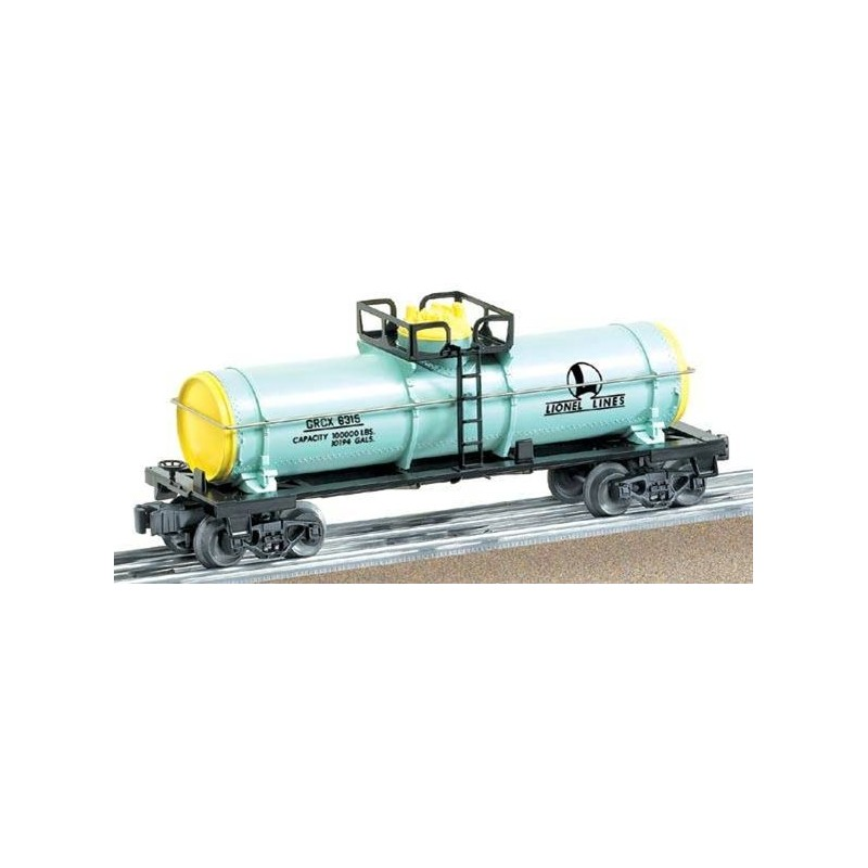 LIONEL 26164 GIRLS LIONEL LINES SINGLE DOME TANK CAR