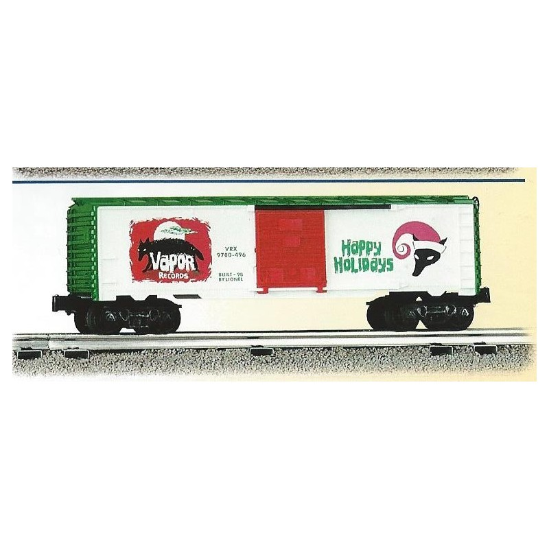 LIONEL 26208 VAPOR RECORDS CHRISTMAS BOXCAR