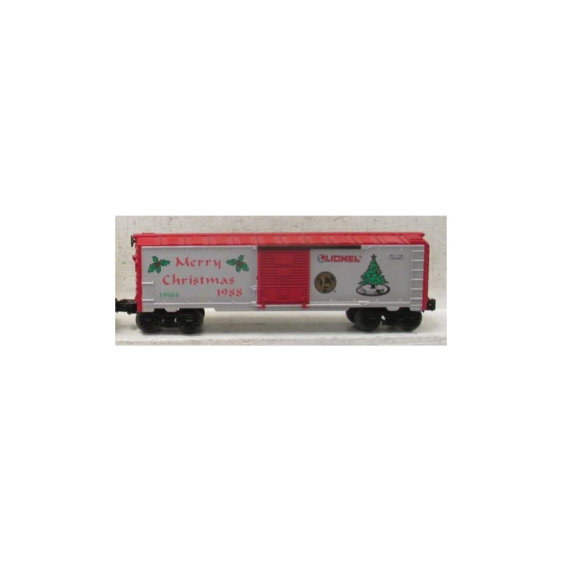 LIONEL 19904 CHRISTMAS HOLIDAY 1988 BOXCAR
