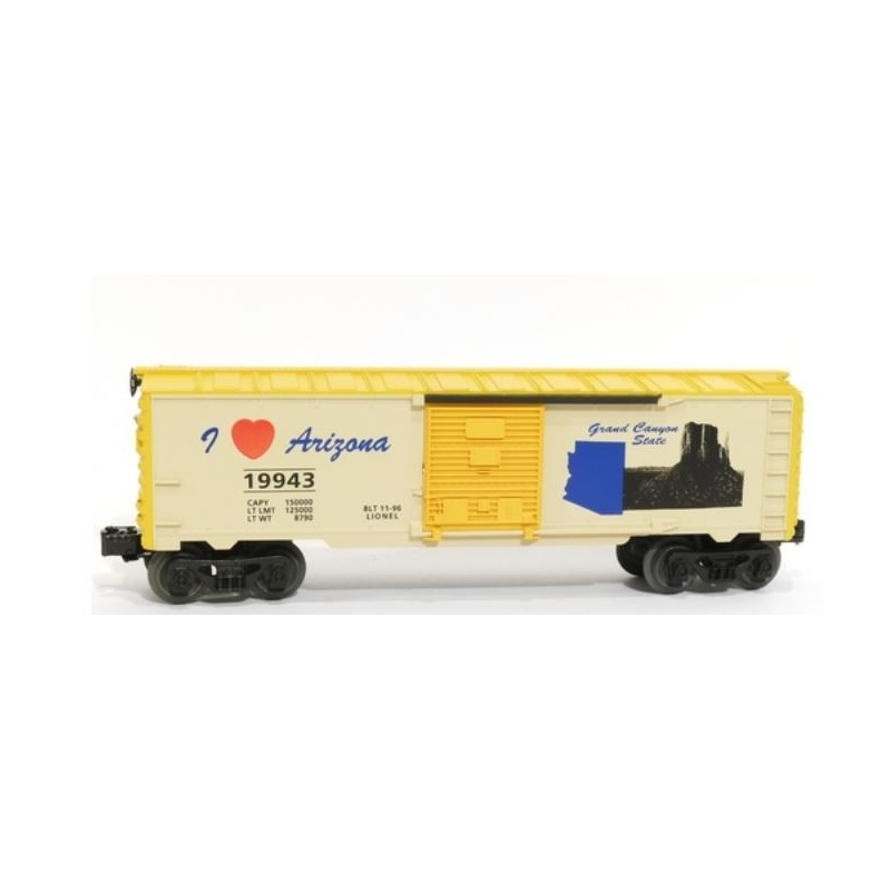 LIONEL 19943 I LOVE ARIZONA BOXCAR