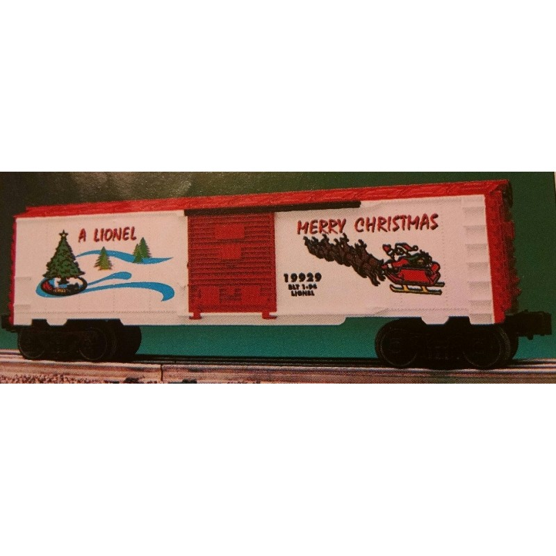 LIONEL 19929 CHRISTMAS HOLIDAY 1994 BOXCAR