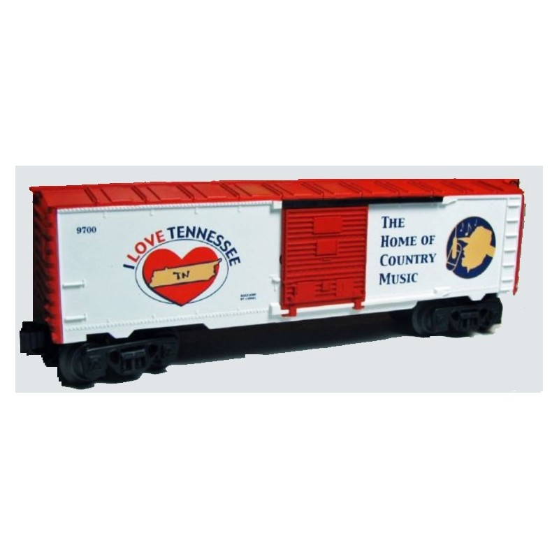 LIONEL 19988 I LOVE TENNESSEE BOXCAR