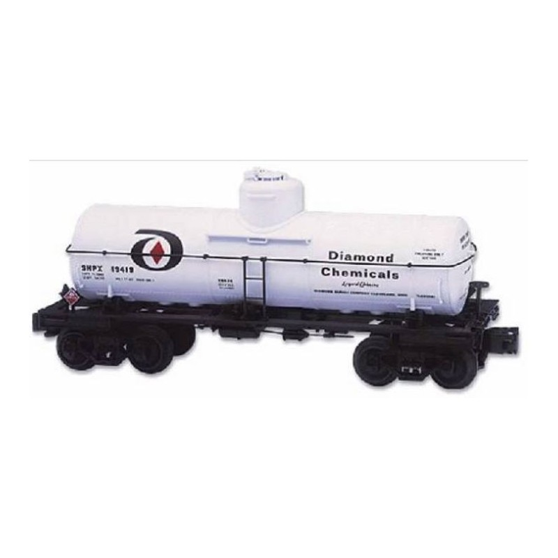 LIONEL 19626 DIAMOND CHEMICALS SINGLE DOME TANK CAR