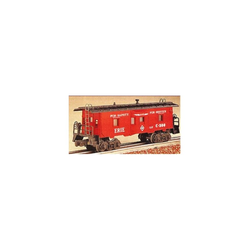 LIONEL 19719 ERIE BAY WINDOW CABOOSE