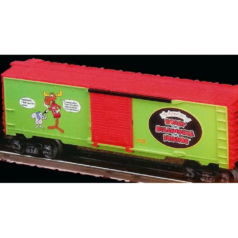 LIONEL 26205 ROCKY AND BULLWINKLE BOXCAR
