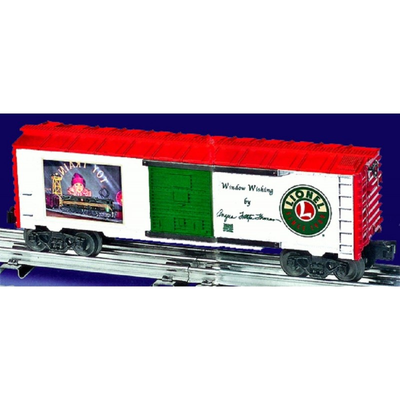 LIONEL 36265 ANGELA TROTTA THOMAS WINDOW WISHING BOXCAR