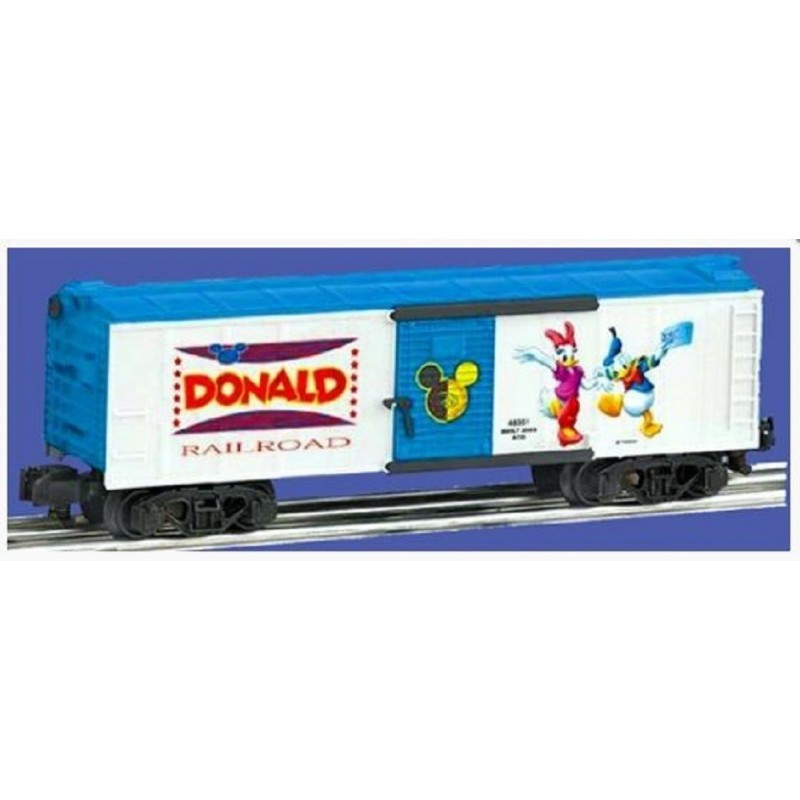 AMERICAN FLYER 48351 DISNEY'S DONALD DUCK BOXCAR