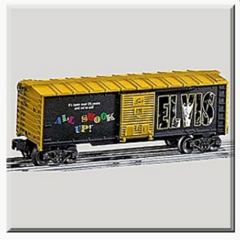 LIONEL 39258 ELVIS PRESLEY ALL SHOOK UP BOXCAR