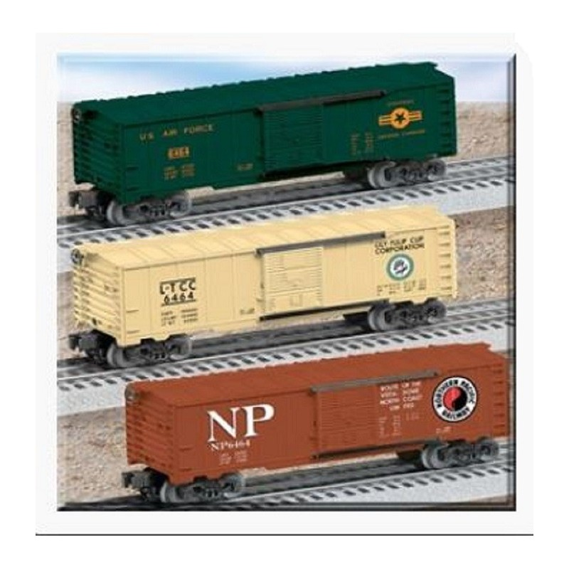 LIONEL 39273 6464 BOXCAR 3 PACK
