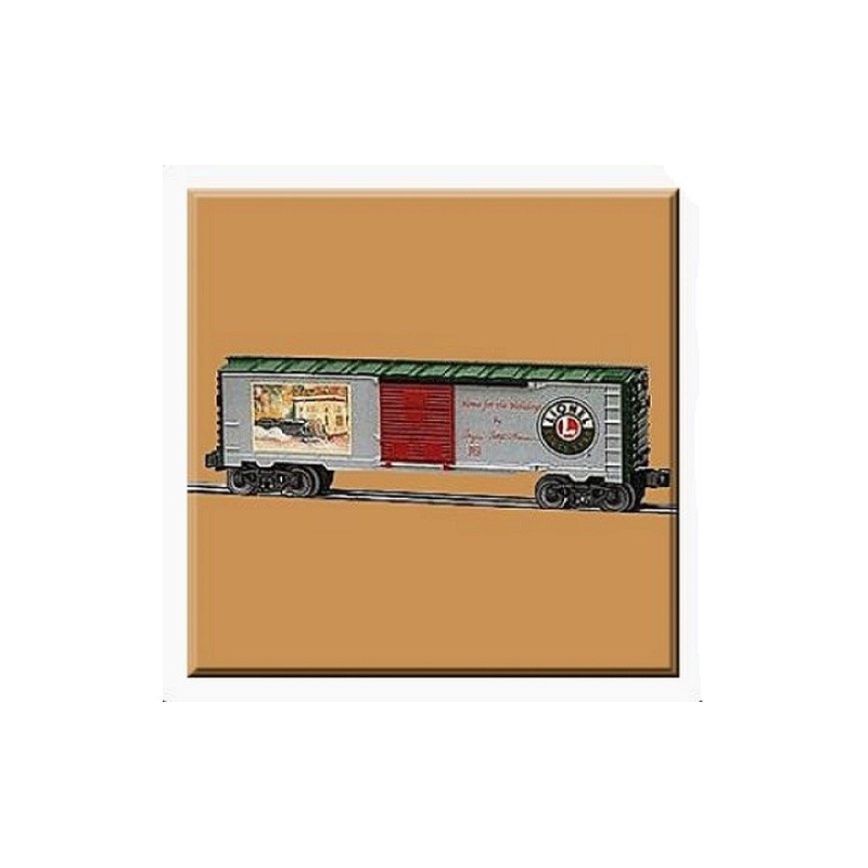 LIONEL 36270 ANGELA TROTTA THOMAS HOME FOR THE HOLIDAYS BOXCAR