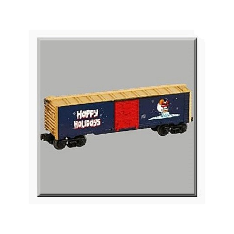 LIONEL 36213 VAPOR RECORDS CHRISTMAS BOXCAR