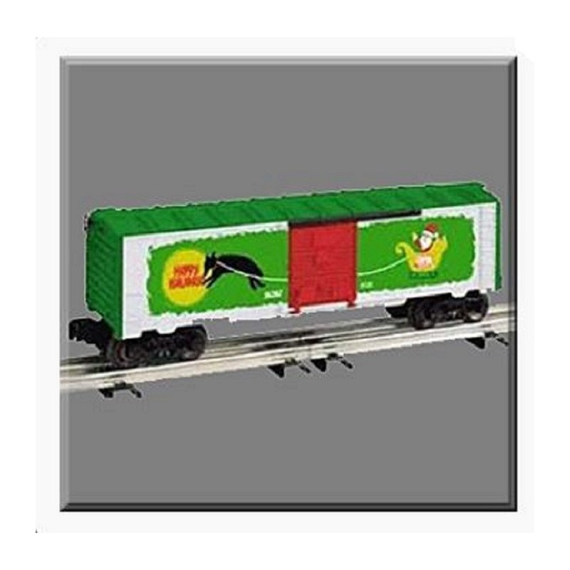 LIONEL 36207 VAPOR RECORDS CHRISTMAS BOXCAR