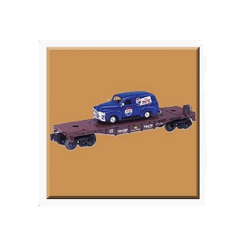 LIONEL 36090  FLATCAR WITH DIE CAST PEPSI TRUCK