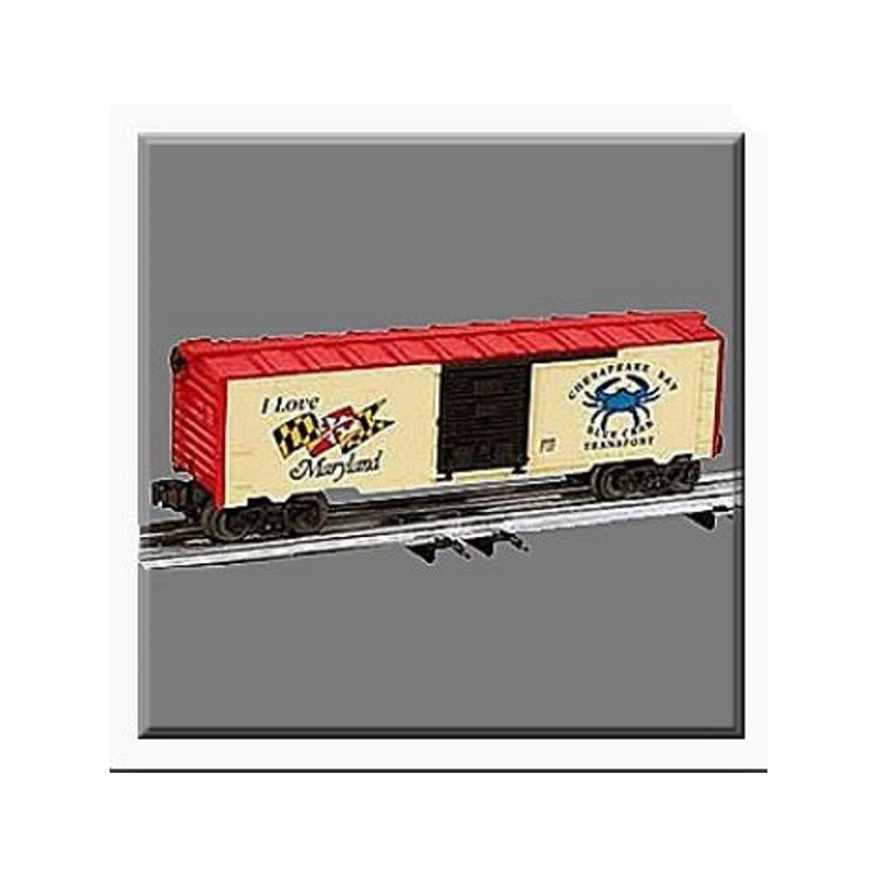 LIONEL 29909 I LOVE MARYLAND BOXCAR