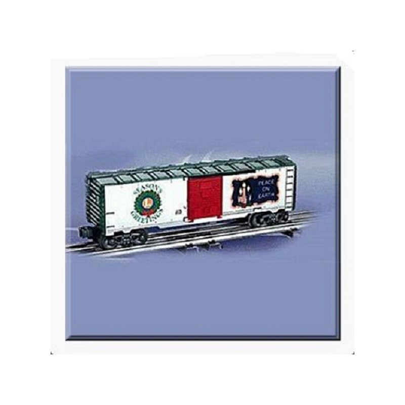LIONEL 26790 2002 CHRISTMAS LIGHTED BOXCAR