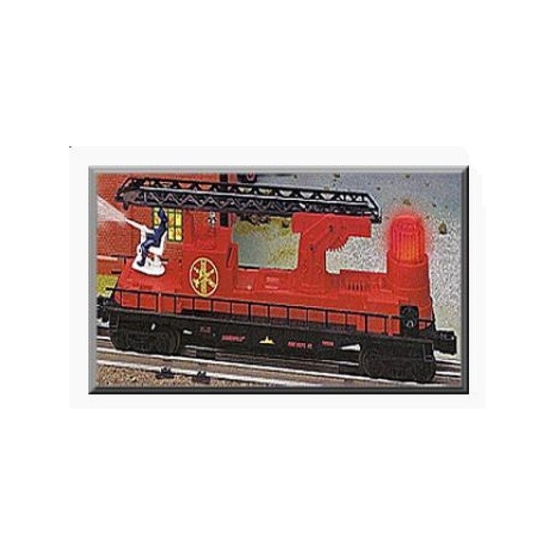 LIONEL 26991 EMERGENCY FIREFIGHTER LADDER CAR