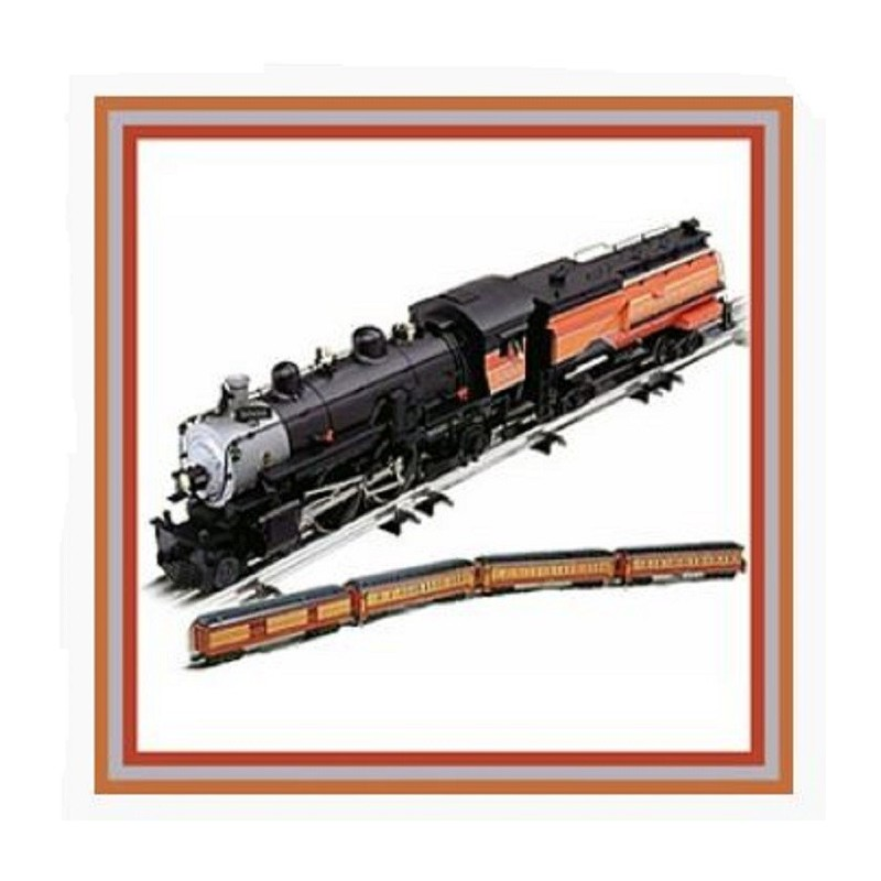 LIONEL 21797 SOUTHERN PACIFIC 4-4-2 ATLANTIC DAYLIGHT PASSENGER SET