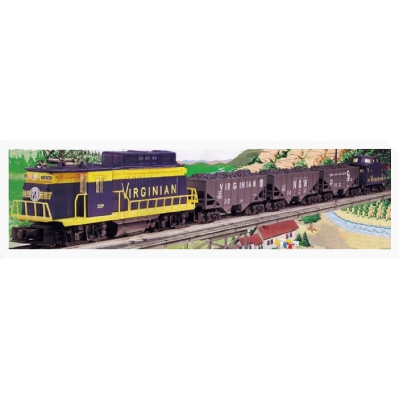 LIONEL 11934 VIRGINIAN RECTIFIER FREIGHT TRAIN SET