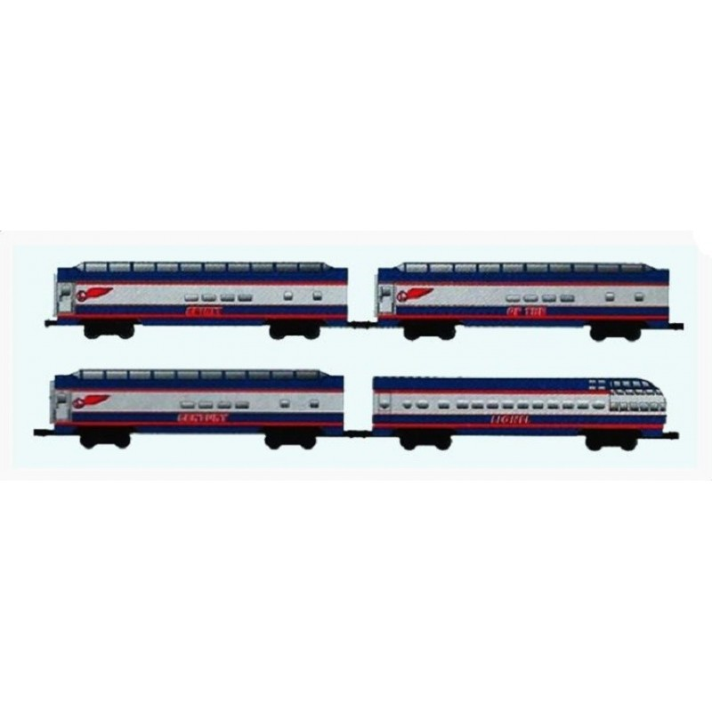 LIONEL 39109 SPIRIT OF THE CENTURY PASSENGER CARS 4 PACK