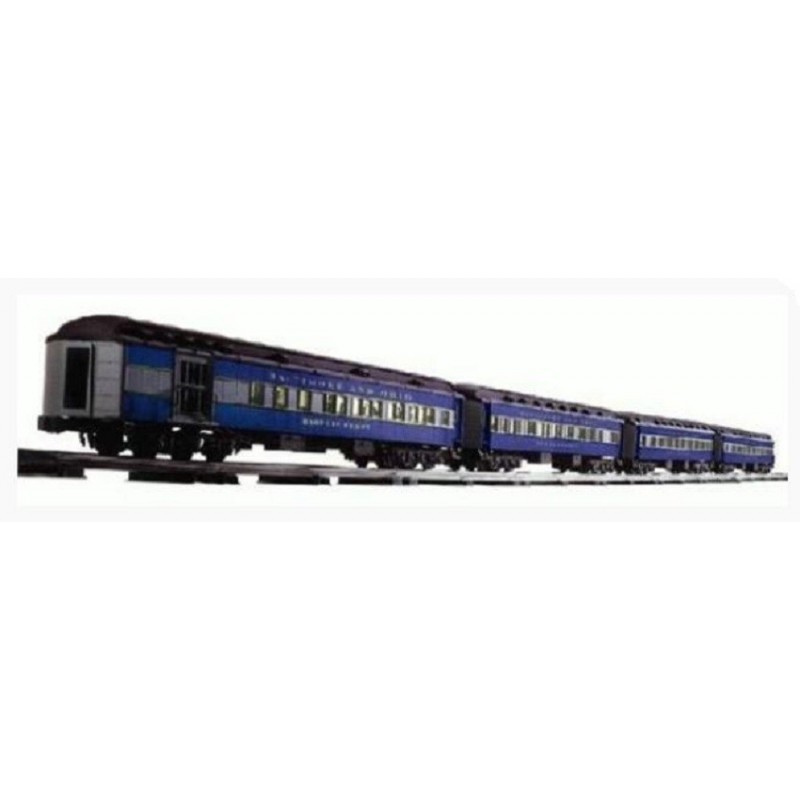 LIONEL 39013 BALTIMORE & OHIO HEAVYWEIGHT PASSENGER CARS 4 PACK