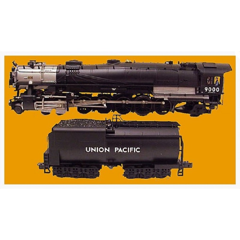 LIONEL 38029 UNION PACIFIC 3 CYLINDER LOCOMOTIVE AND TENDER