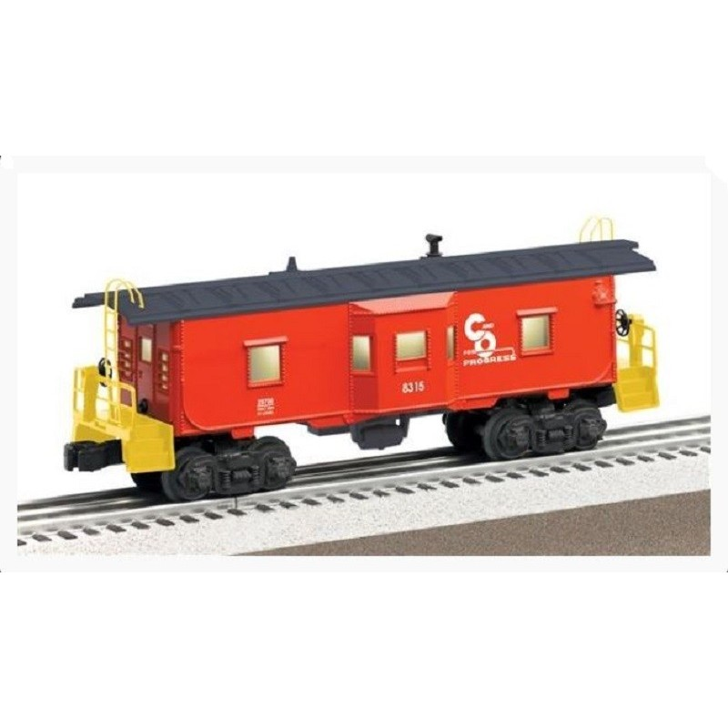 LIONEL 29708 CHESAPEAKE AND OHIO BAY WINDOW CABOOSE